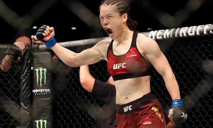 MMA: UFC Fight Night-Shenzhen-Andrade vs Weili